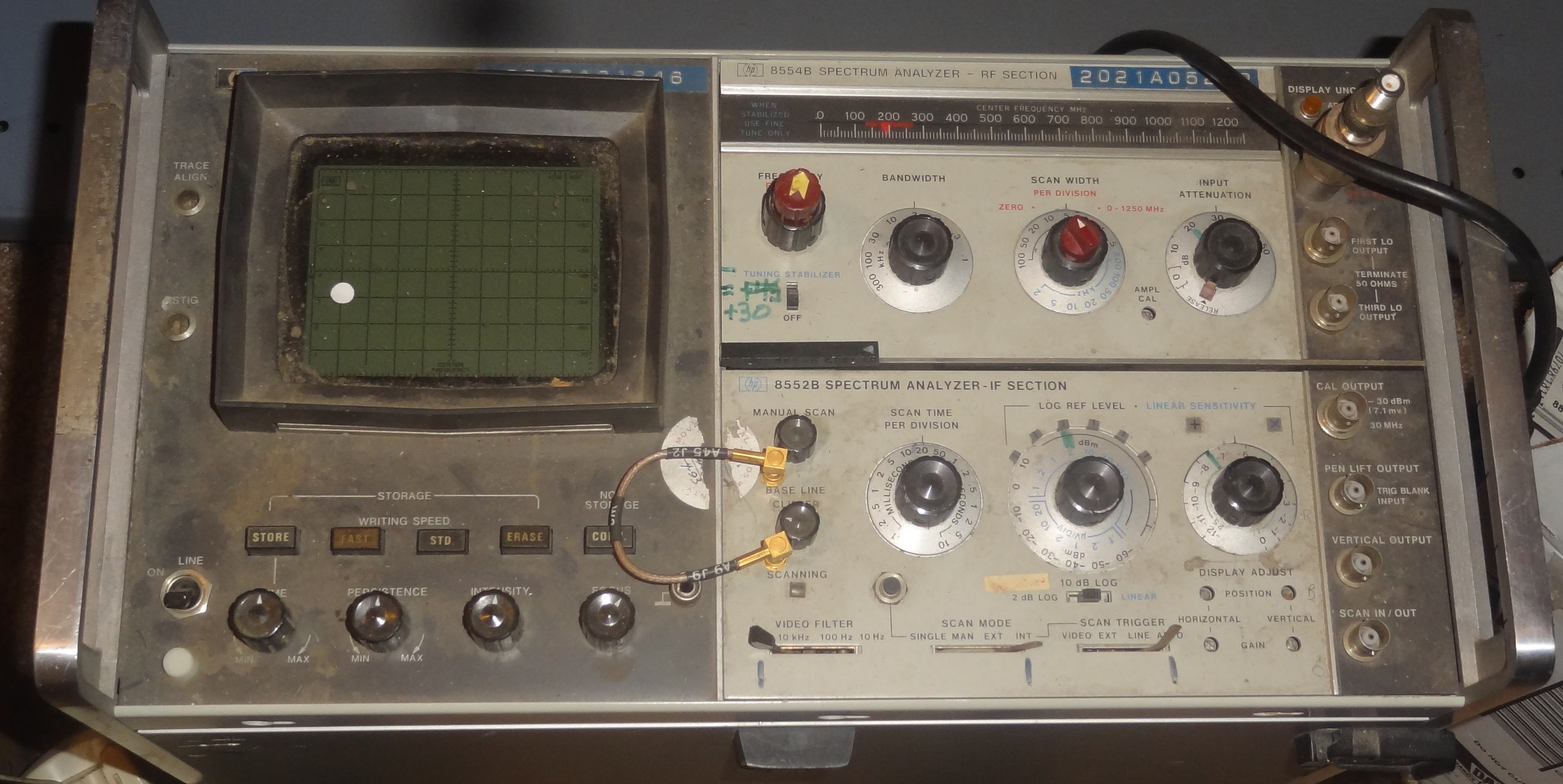hp spectrum analyser